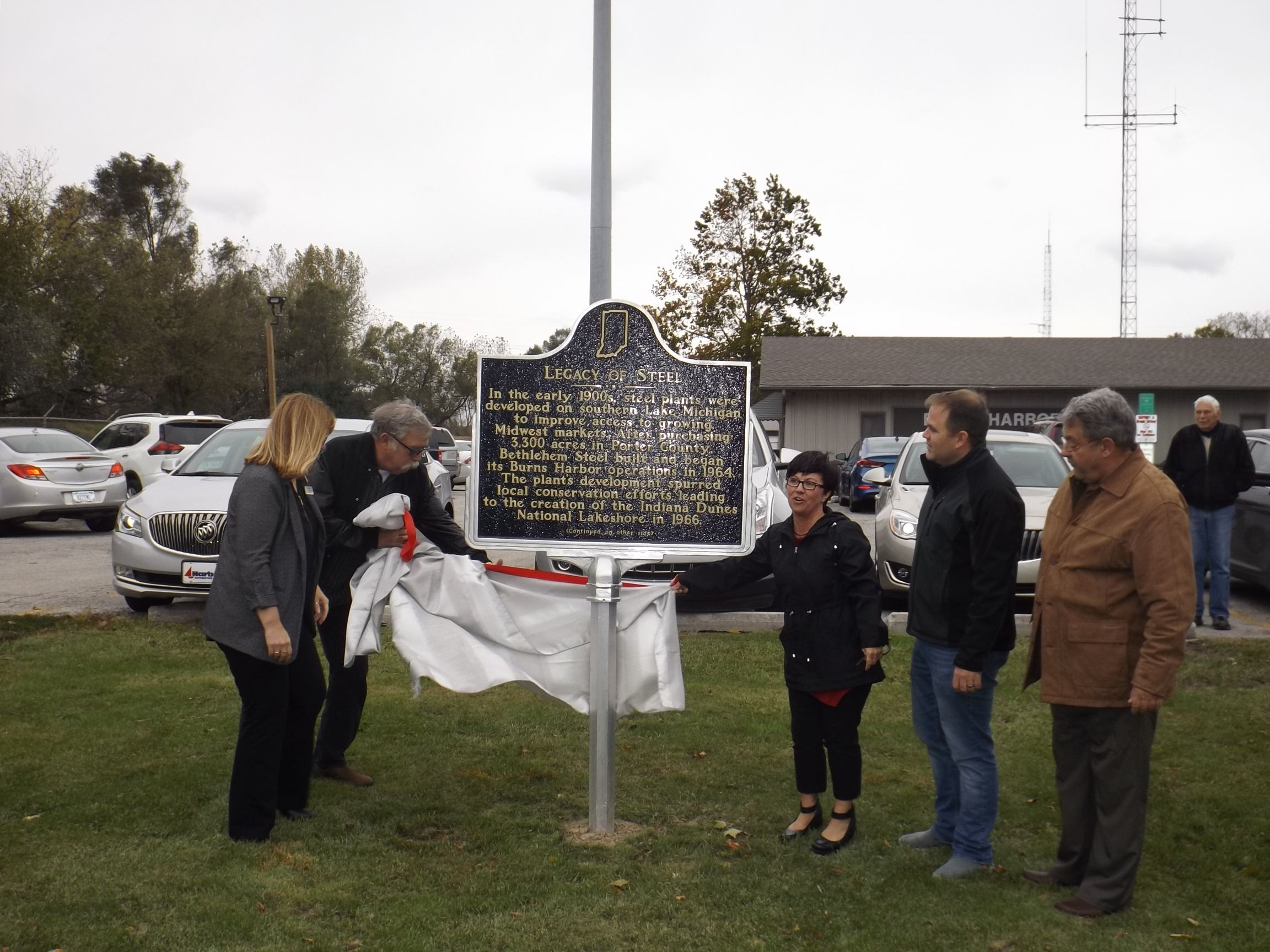 Legacy of Steel Historical Marker Dedication