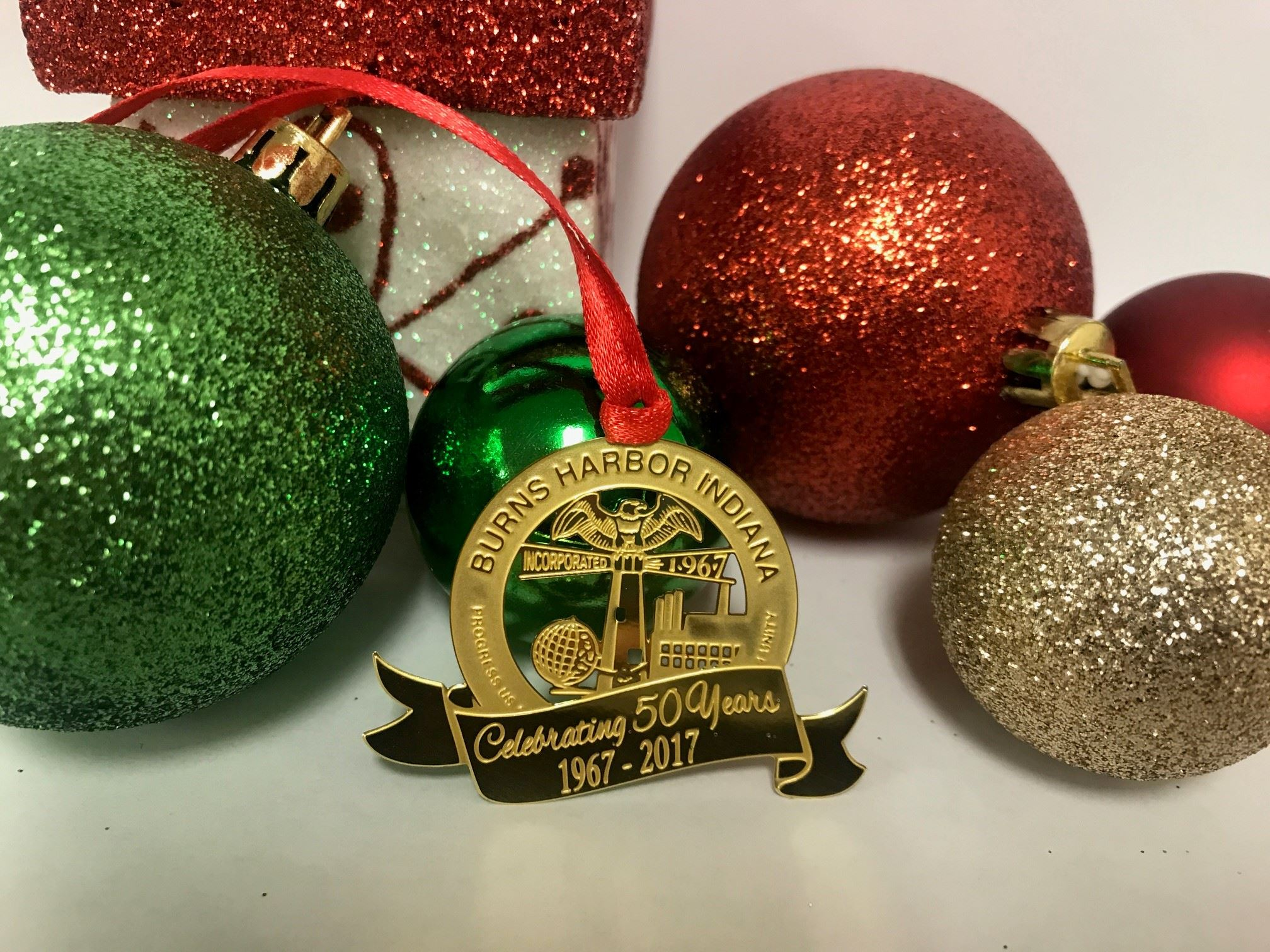 Commemorative Holiday Ornament
