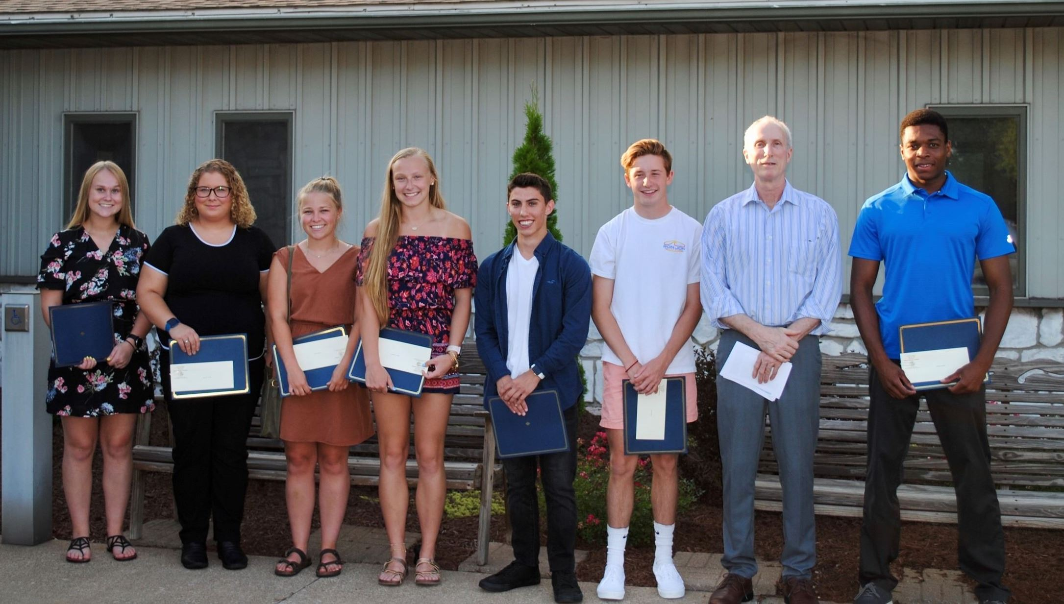 2019 Burns Harbor Scholarship Recipients