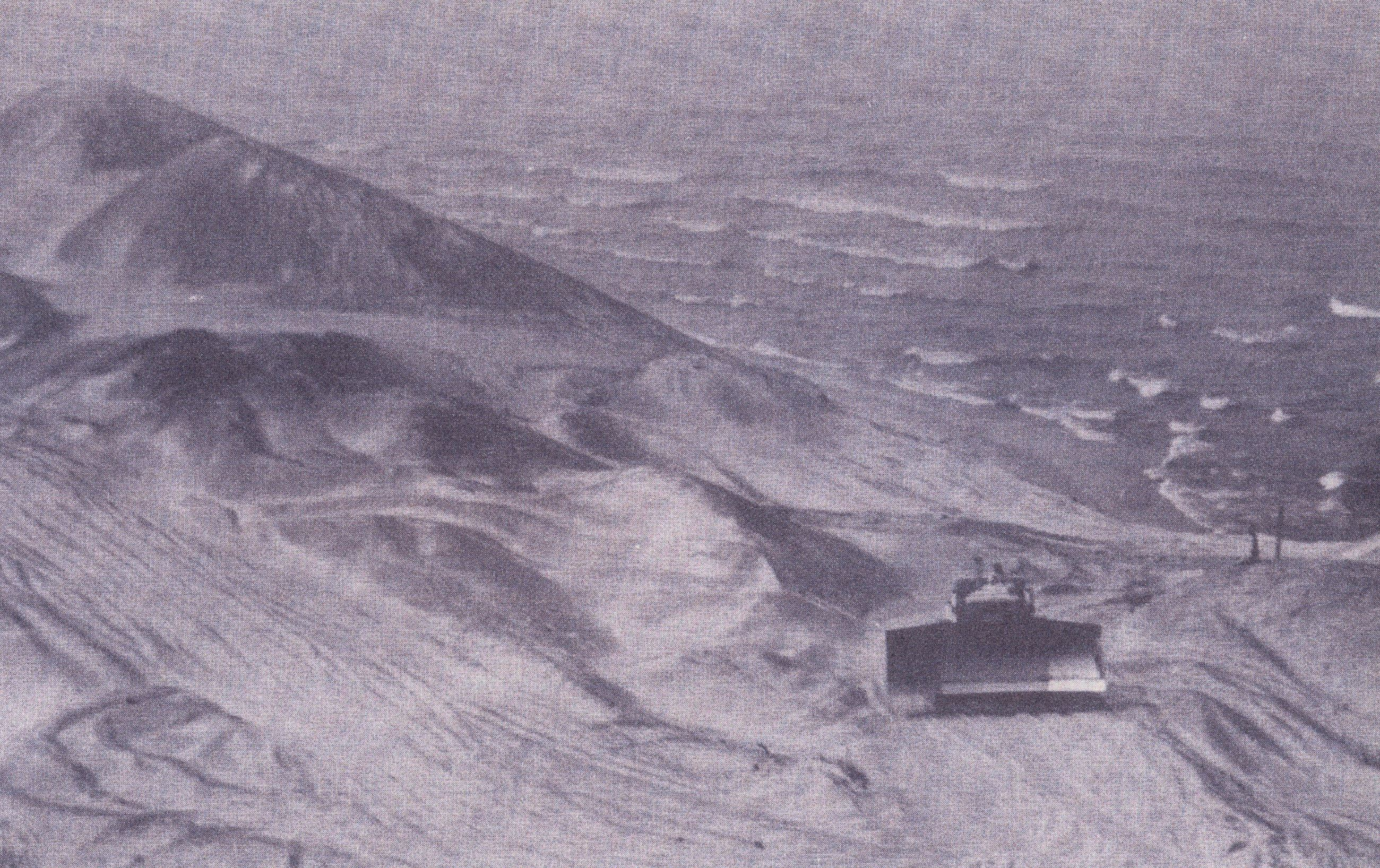Mining the Central Dunes, 1962