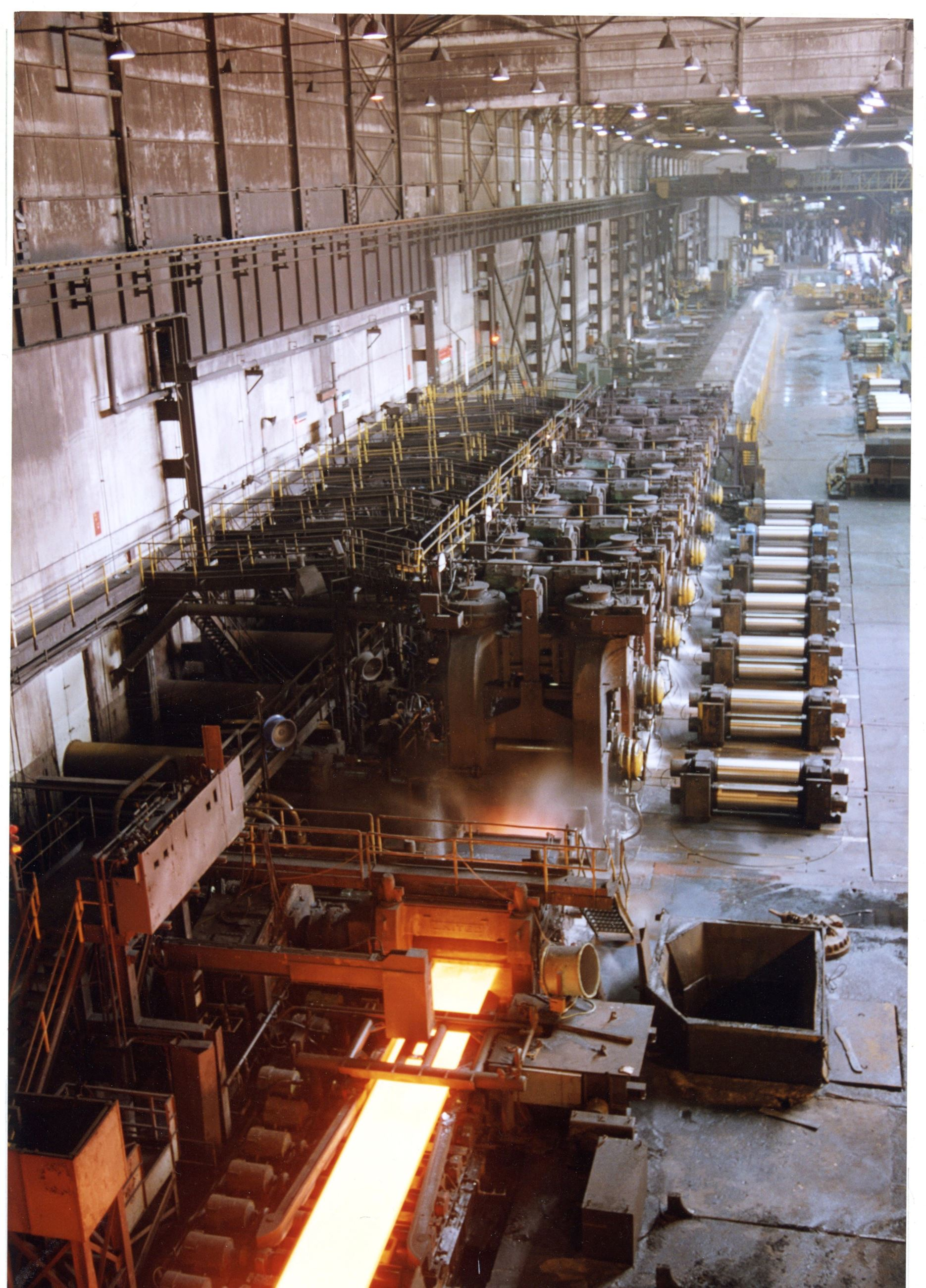 80-inch hot-steel mill